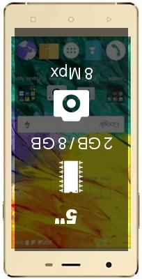 Karbonn Fashion Eye 2.0 2GB 8GB smartphone