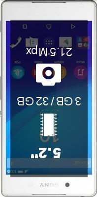 SONY Xperia Z3+ Dual SIM smartphone