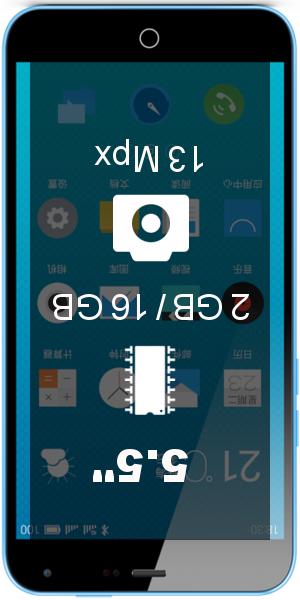MEIZU M1 Note Telecom smartphone