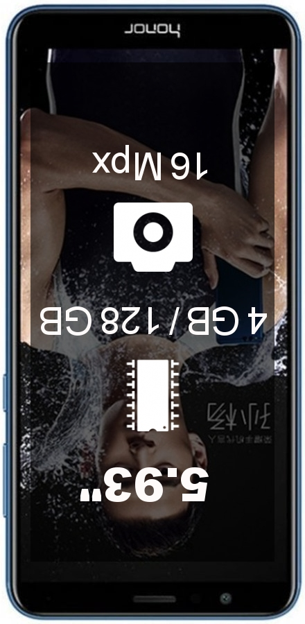 Huawei Honor 7x AL10 4GB 128GB smartphone