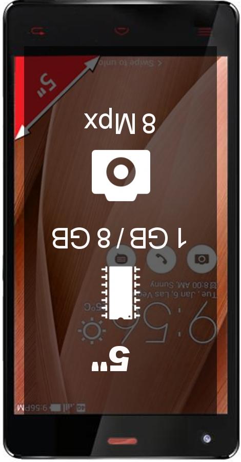 Ginzzu S5020 smartphone