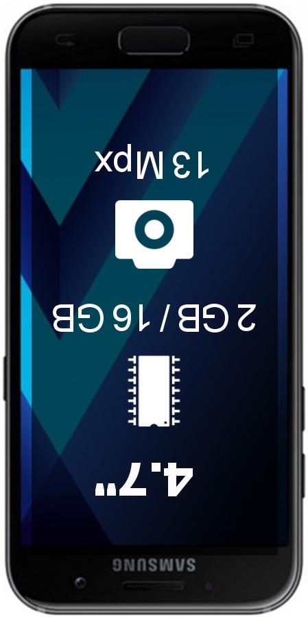 Samsung Galaxy A3 (2017) A320FD Dual smartphone