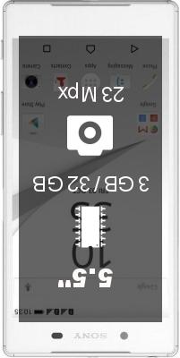 SONY Xperia Z5 Premium Dual SIM E6883 smartphone