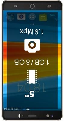 DEXP Ixion ES750 smartphone