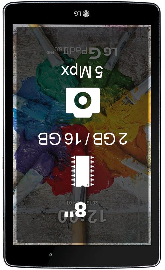 LG G Pad III 8.0 FHD tablet