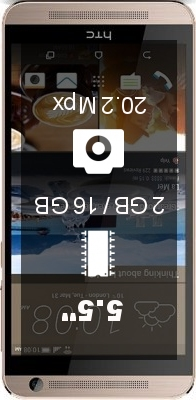 HTC One E9+ W 2GB 16GB smartphone