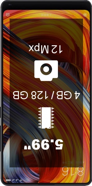 Xiaomi Mi MIX 2 4GB 128GB smartphone