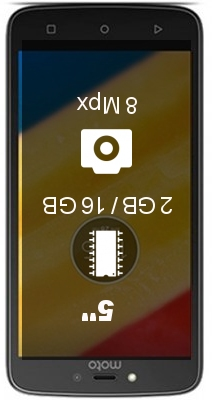 Motorola Moto C Plus 2GB smartphone