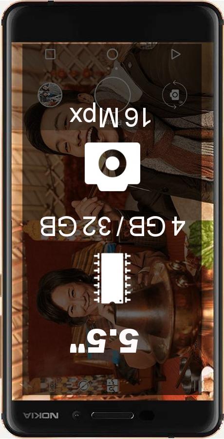 Nokia 6 (2018) TA-1054 32GB smartphone
