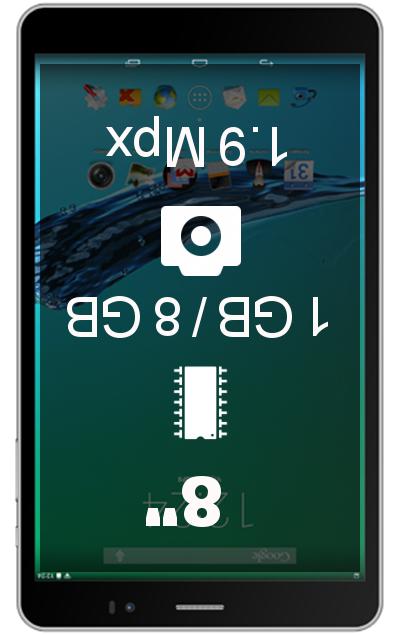 Texet X-pad Navi 8.2 3G tablet