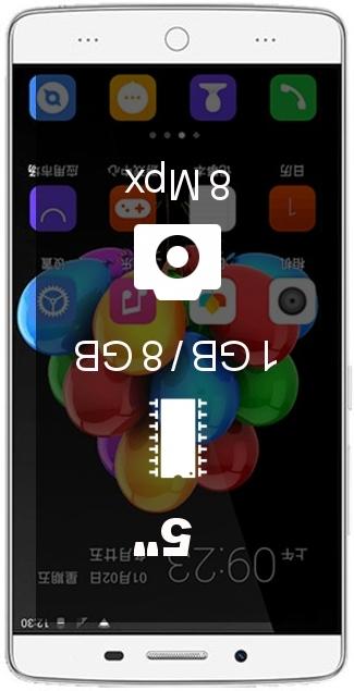 TCL P589L smartphone