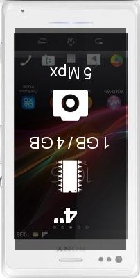 SONY Xperia M Single SIM smartphone