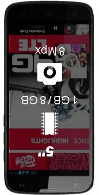 Yezz Andy 5E LTE smartphone