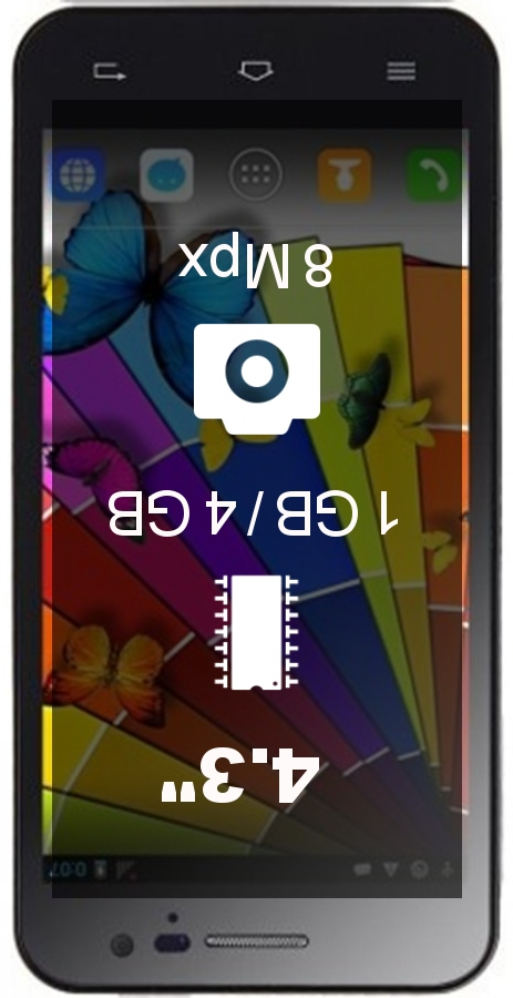 Jiayu G2F WCDMA 850/2100 smartphone