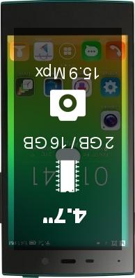 IUNI U2 2GB smartphone