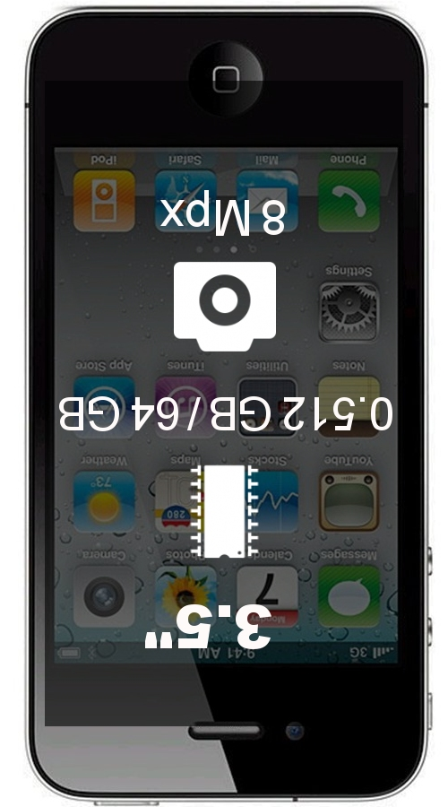 Apple iPhone 4s 64GB smartphone