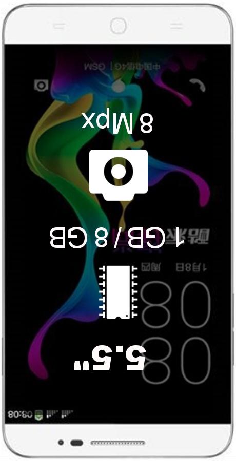 Coolpad Y80D smartphone