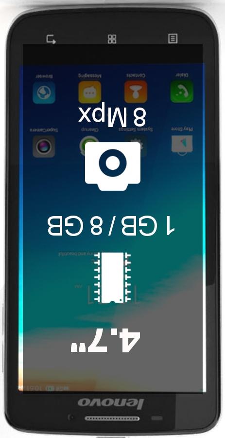 Lenovo S650 smartphone