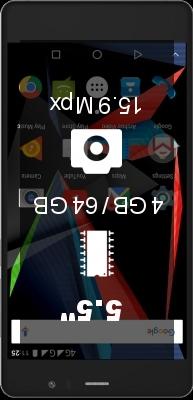 Archos 55 Diamond Selfie 4GB 64GB smartphone