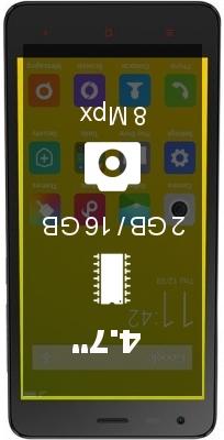 Xiaomi Redmi 2A Enhanced Edition smartphone