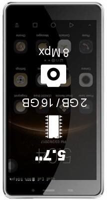 Leagoo M8 2GB 16GB smartphone
