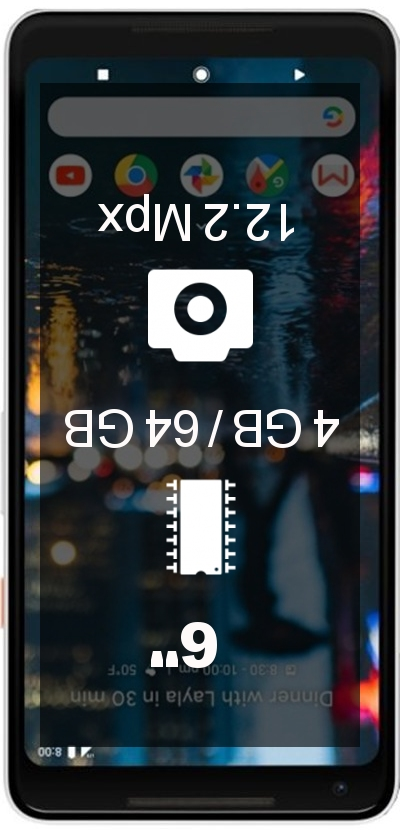 Google Pixel 2 XL 64GB smartphone