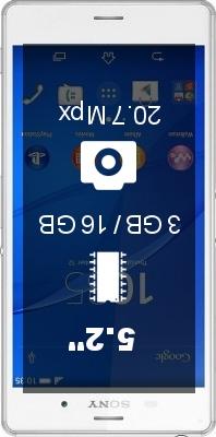 SONY Xperia Z3 Dual SIM 6633 smartphone