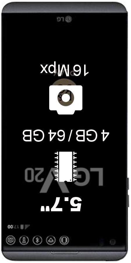 LG V20 H990DS smartphone