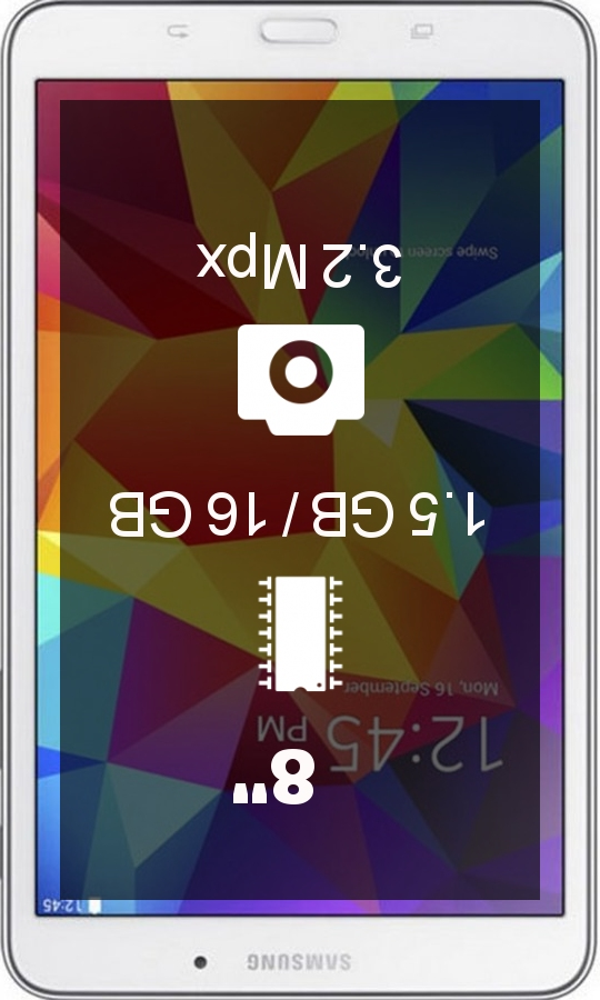 Samsung Galaxy Tab 4 8.0 Wifi tablet