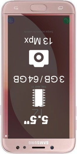 Samsung Galaxy J7 (2017) 64GB J730GM Pro smartphone