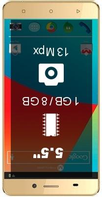 Maxwest Astro X55s smartphone