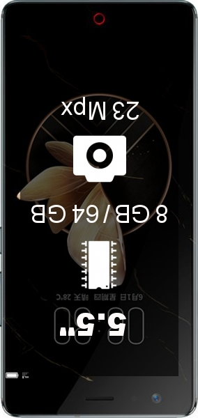 Nubia Z17 8GB 64GB smartphone