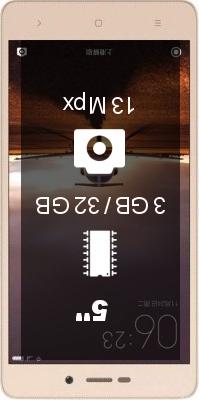 Xiaomi Redmi 3S 3GB 32GB smartphone