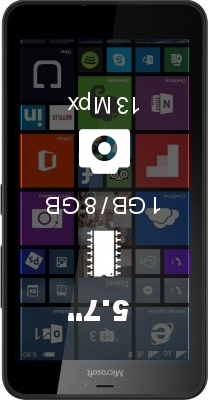 Microsoft Lumia 640 XL LTE smartphone