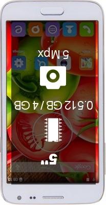 Jiake G900W 512Mb 4GB smartphone