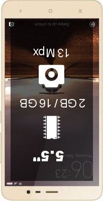 Xiaomi Redmi Note 4 2GB 16GB smartphone