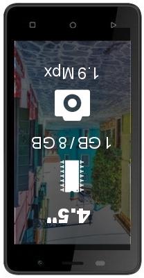 Jinga A450 smartphone