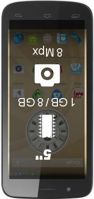 Prestigio MultiPhone 5504 DUO smartphone