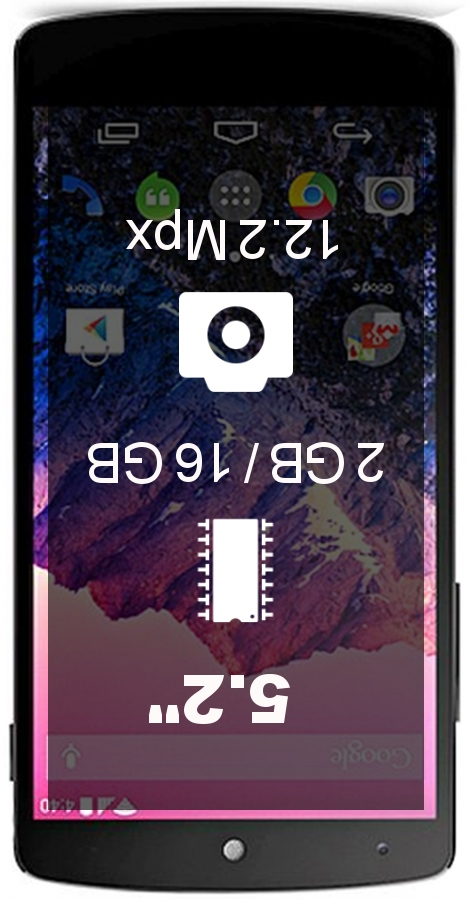 LG Nexus 5X smartphone