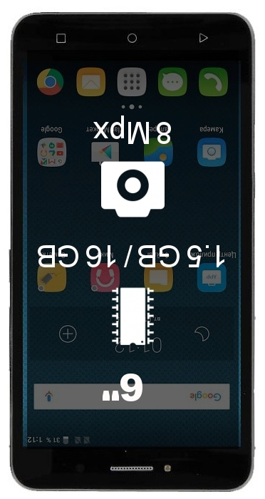 Alcatel Pixi 4 (6) 4G 16GB smartphone
