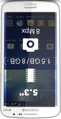 Samsung Galaxy Grand 2 Duos smartphone