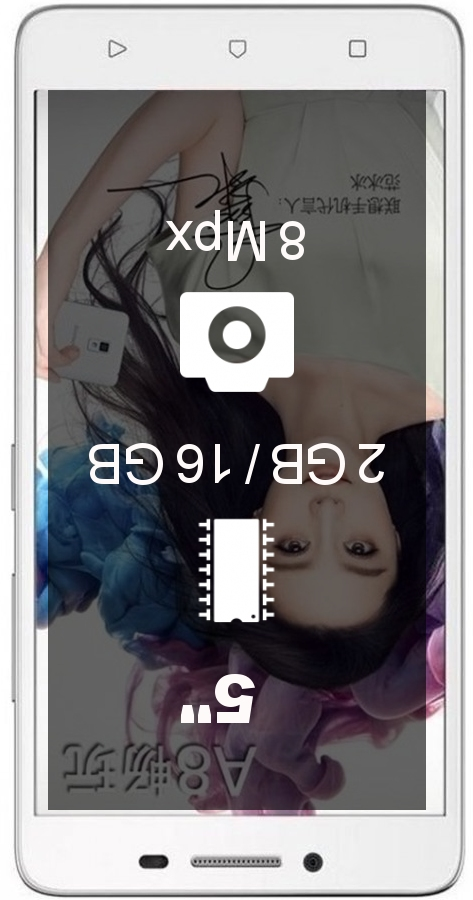 Lenovo A3690 2GB 16GB smartphone