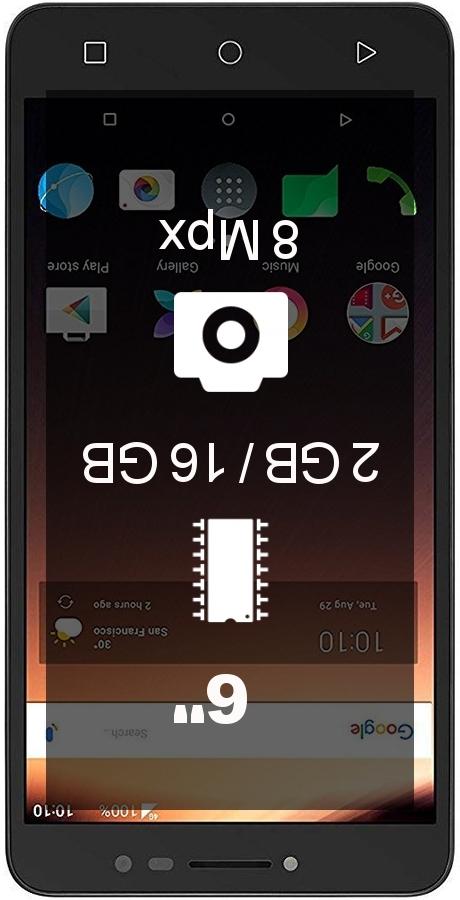 Alcatel A3 XL 2GB 16GB smartphone