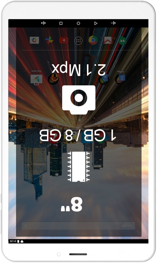 Archos 80b Helium 4G tablet