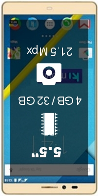 Elephone Vowney Dual SIM smartphone