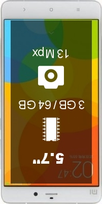 Xiaomi Mi Note 3GB 64GB smartphone