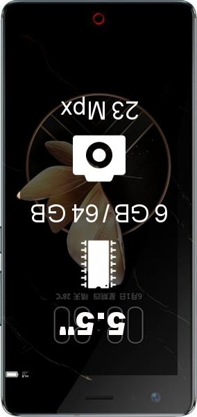 Nubia Z17 6GB 64GB smartphone