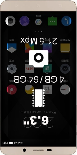LeEco (LeTV) Le Max X900 64GB smartphone