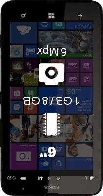 Nokia Lumia 1320 LTE smartphone