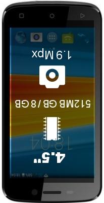 DEXP Ixion E245 Evo 2 smartphone